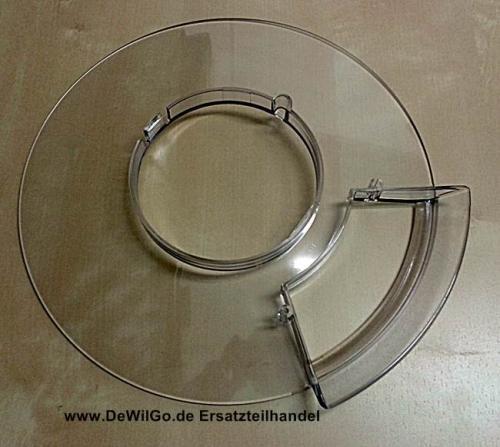 Spritzschutzdeckel Quigg KM 2010.13 Silber Küchenmaschine | DeWilGo ...