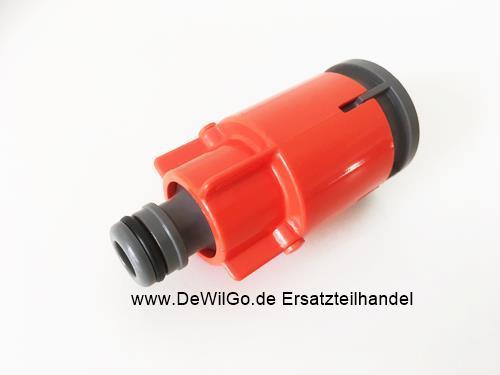 Gardena Wasseranschluss mit Stoppventil